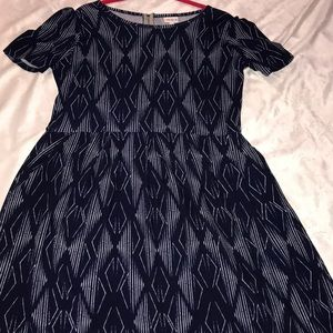 LuLaRoe Dresses - 2XL LuLaRoe Amelia Dress